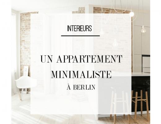 Découvrez ce bel appartement minimaliste et chic berlinois. Plus d'inspiration déco minimaliste dans l'article !