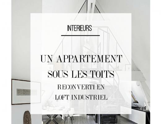 Découvrez l'intérieur de cet appartement sous les toits reconverti en loft industriel