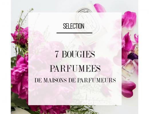 7 bougies parfumées crées par des parfumeurs