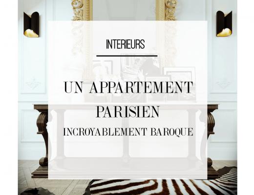 Laissez vous surprendre par la décoration de cet appartement bourgeois parisien riche en surprises ! Découvrez toutes les images de cet intérieur incroyablement luxueux et moderne dans l'article !