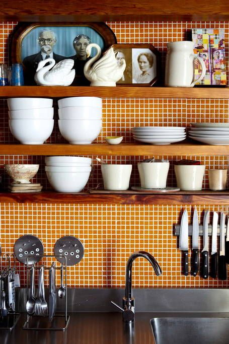 Jolis détails d'une cuisine de style industriel. Retrouvez plus d'inspiration déco avec les photos de cet intérieur dans l'article.