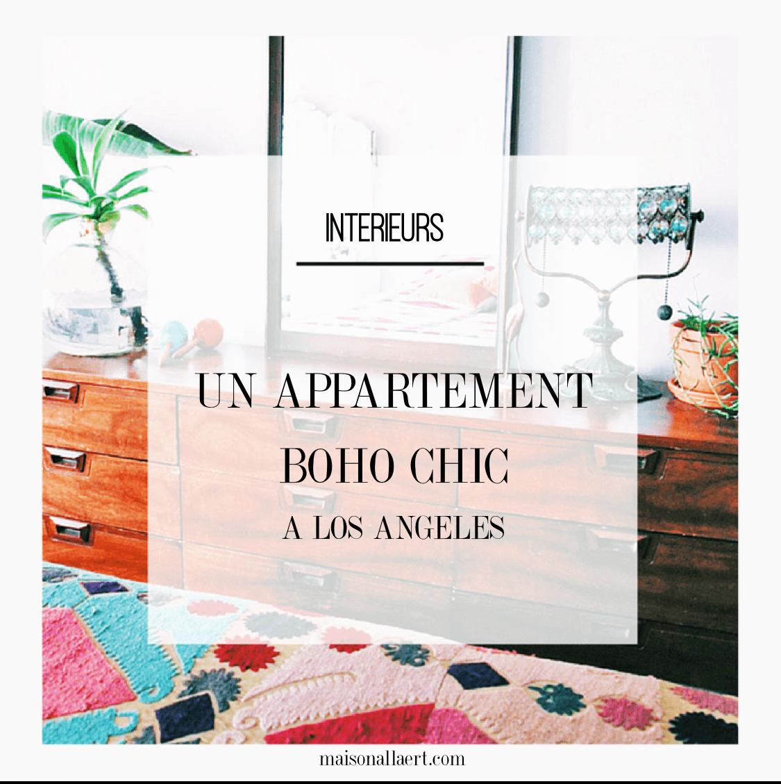 Découvrez un adorable appartement boho chic californien, et trouvez l'inspiration en parcourant les photos de cet intérieur coloré et bohème. Plus de photos dans l'article !