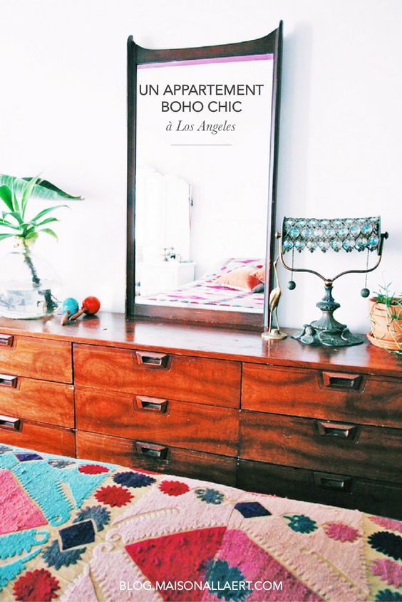 Un appartement boho chic à Los Angeles