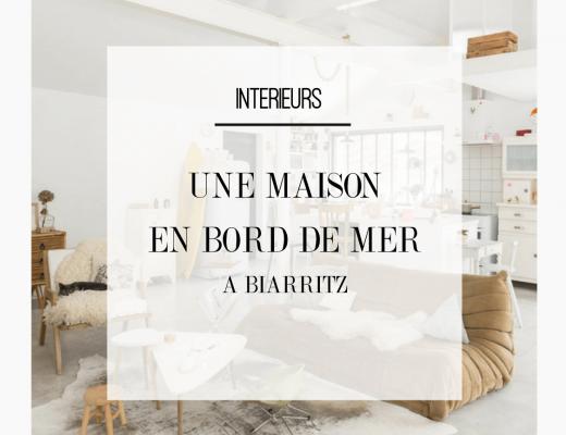 Découvrez la déco bord de mer de cette maison originale et authentique de Biarritz. Retrouvez toutes les photos de cet intérieur dans l'article.