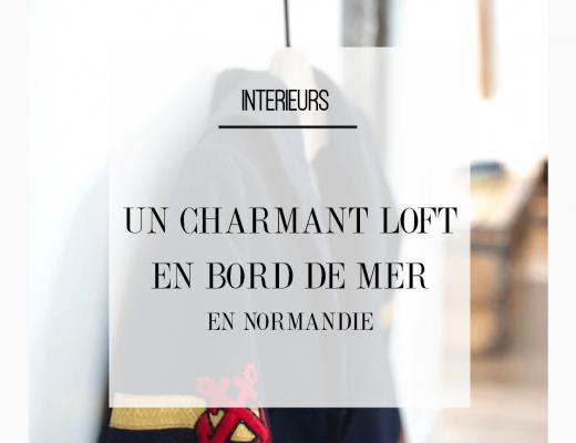 Un mini loft industriel sous les toits de Normandie, joliment décoré avec des meubles de bois naturel et des objets en métal brut. Retrouvez toutes les photos de ce loft dans l'article.