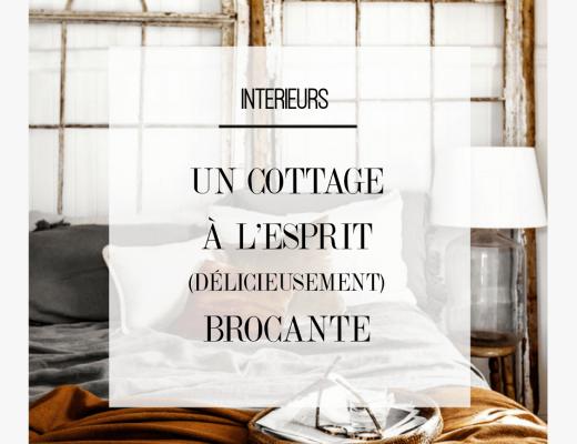 Découvrez ce cottage rustique à l'esprit brocante, et aux délicieux accents d'automne