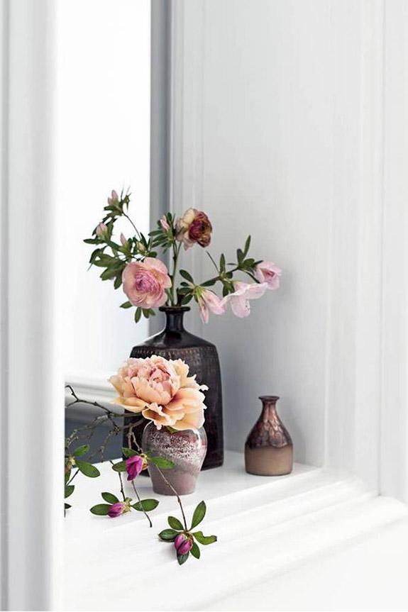 Des jolis vases en raki pour décorer un intérieur bohème et féminin #raku #vaseraku