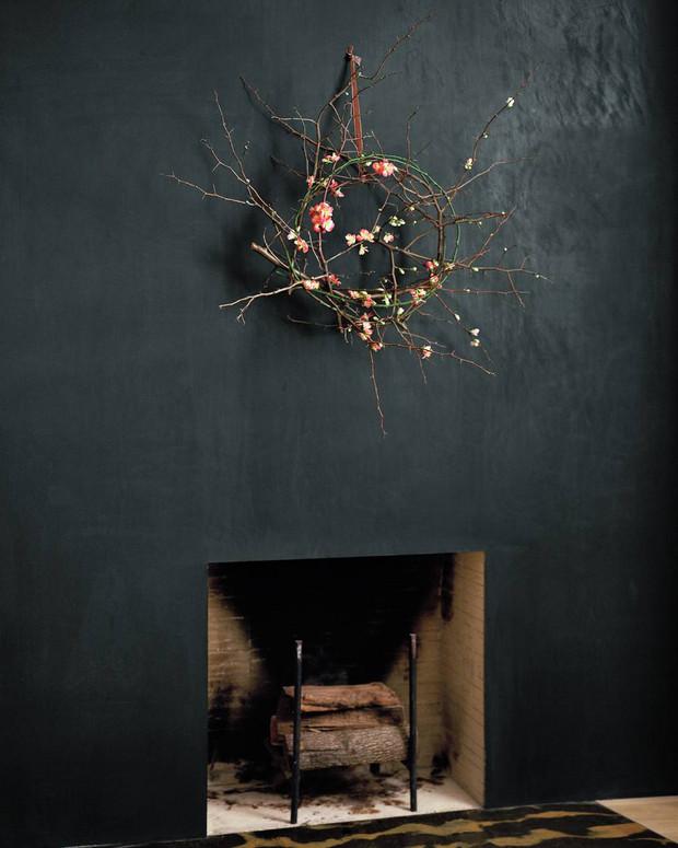Une couronne de Noel végétale et originale