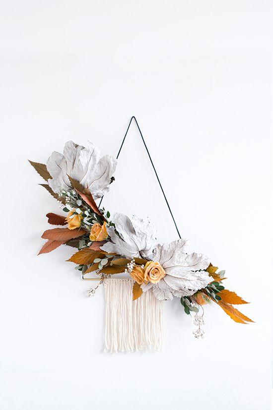Découvrez plein de tuto DIY pour fabriquer une couronne de Noel