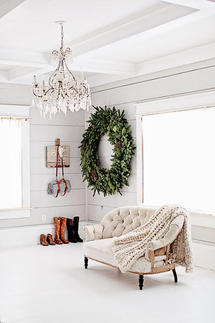 Décorez votre maison d'une couronne de Noel au format XXL