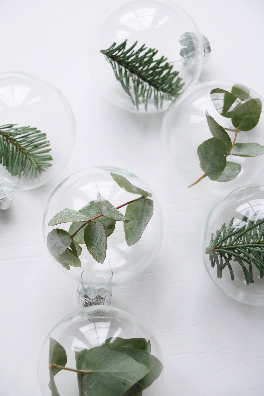 Idée DIY pour des boules de Noel en verre