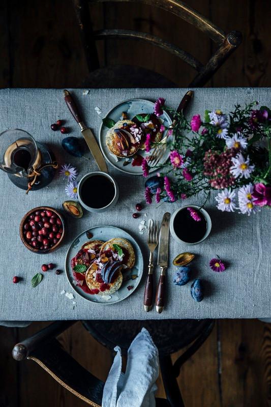 Une déco de table rustique et naturelle