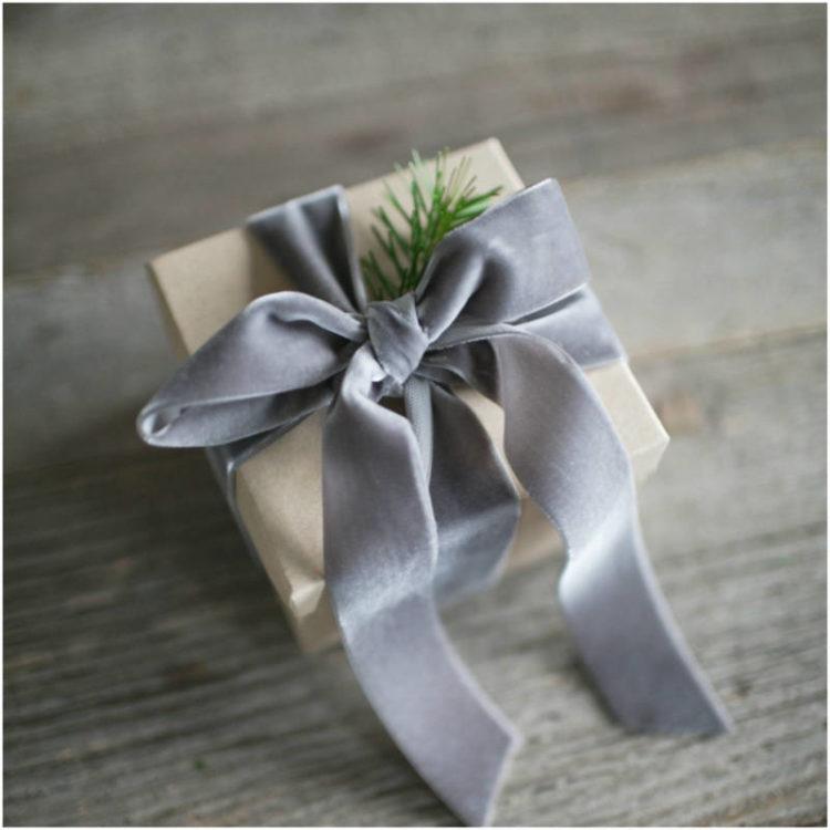 Quelques idées de ruban pour votre emballage cadeau