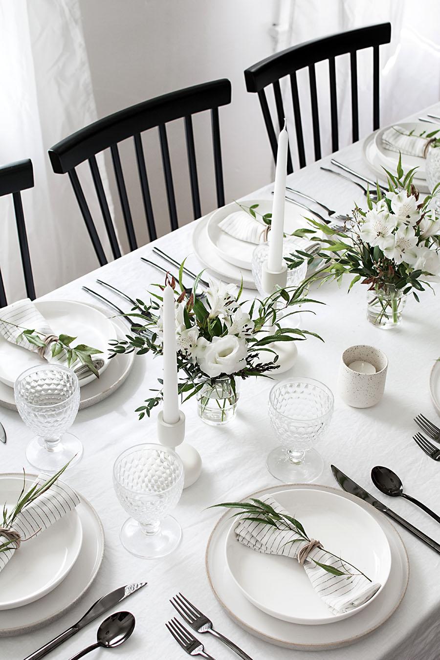 3 conseils pour réaliser une table de Noel naturelle