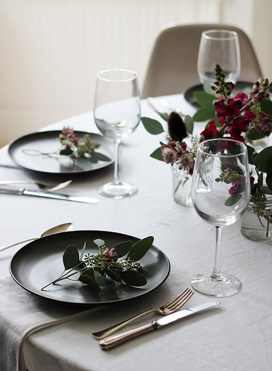 Decoration Table Noel Blog