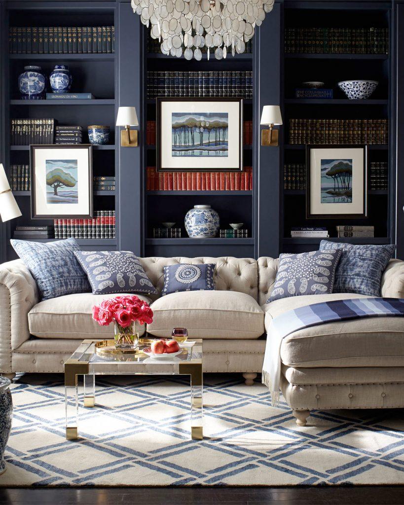 7 conseils pour am nager un mur en biblioth que le blog for Deco appartement bourgeois