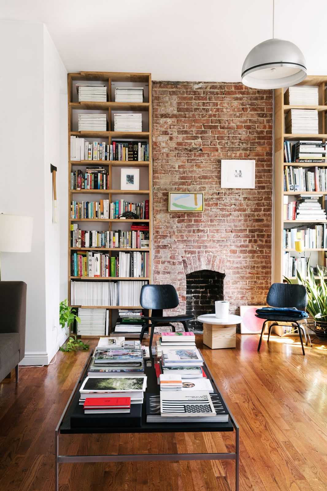 Idée de bibliothèque originale pour son salon