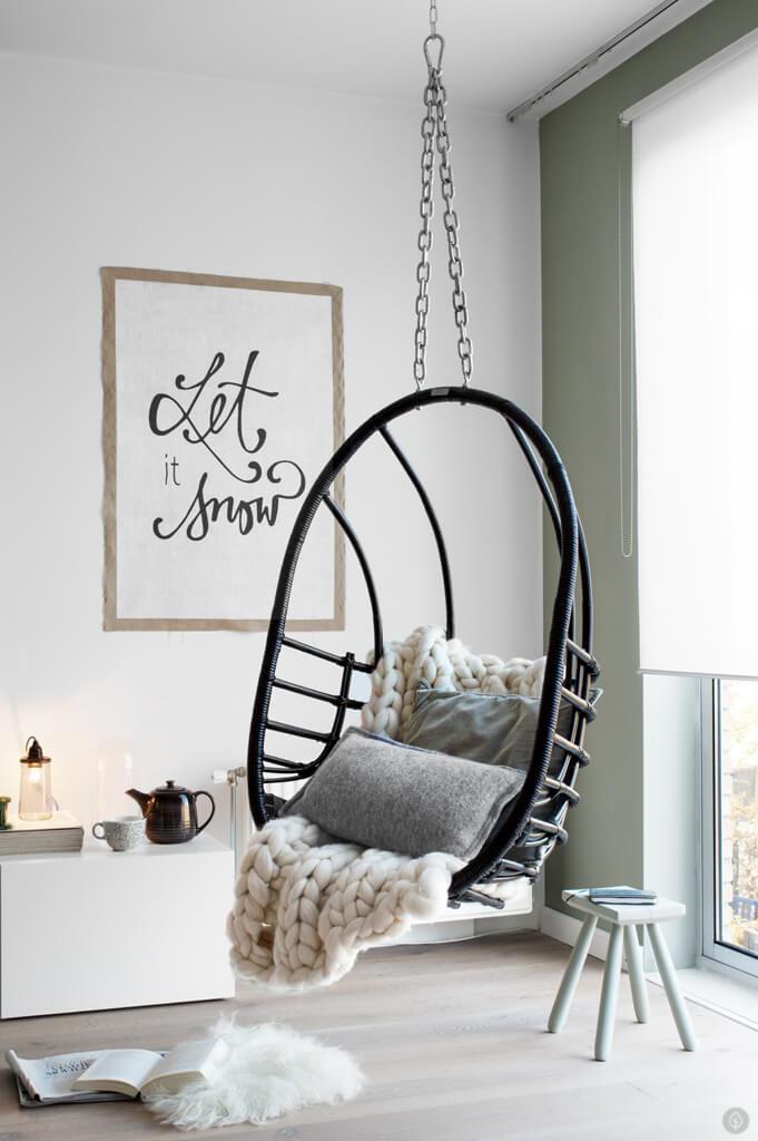 12 id es pour cr er une d co cosy dans son salon cet hiver - Idee deco wallpaper volwassene kamer ...