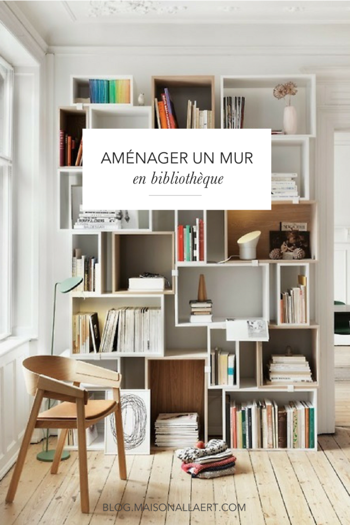 7 conseils pour am nager un mur en biblioth que le blog. Black Bedroom Furniture Sets. Home Design Ideas