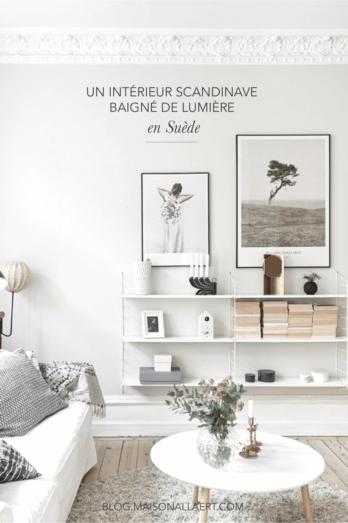 un bel appartement scandinave baign de lumi re en su de le blog d co de l 39 atelier maison allaert. Black Bedroom Furniture Sets. Home Design Ideas