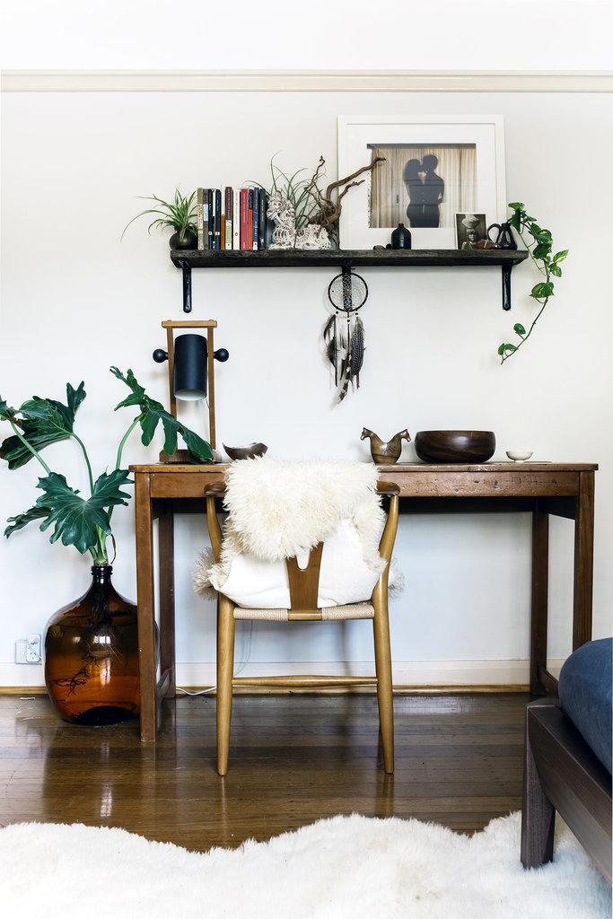 Idée déco pour un bureau d'intérieur chez soi