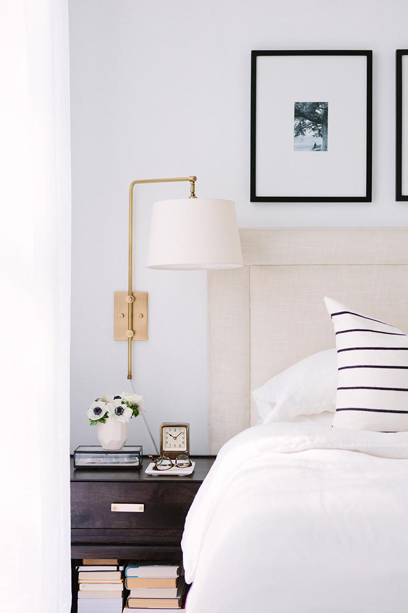 Idée de décoration pour une chambre classique et élégante
