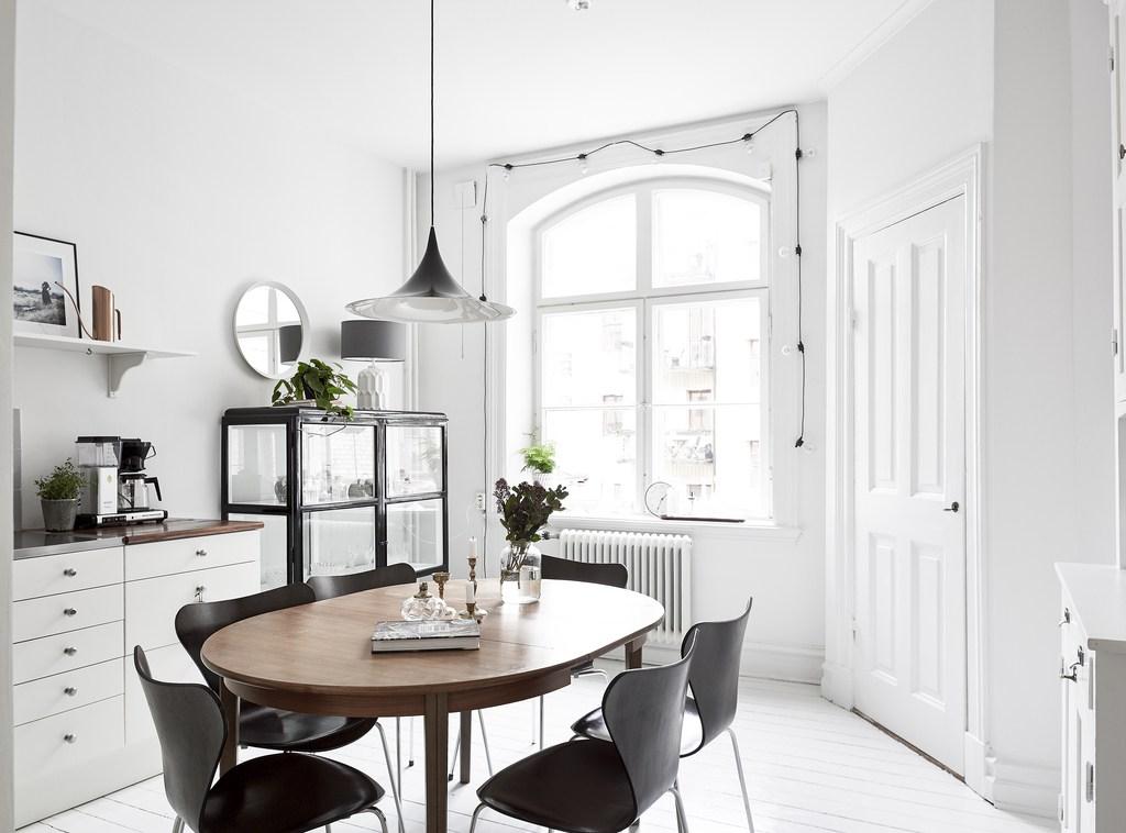 Idée déco pour une salle à manger scandinave