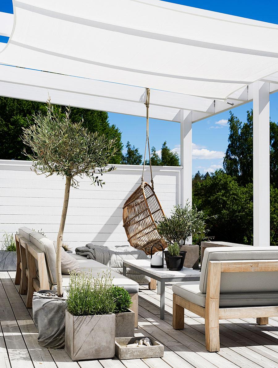 Idée déco pour une terrasse minimalisme