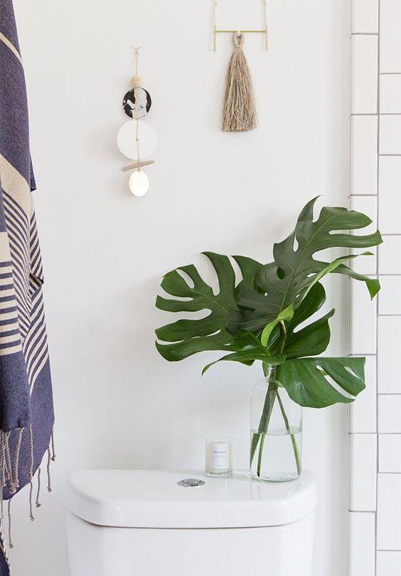 Petite idée déco toute simple pour la salle de bain