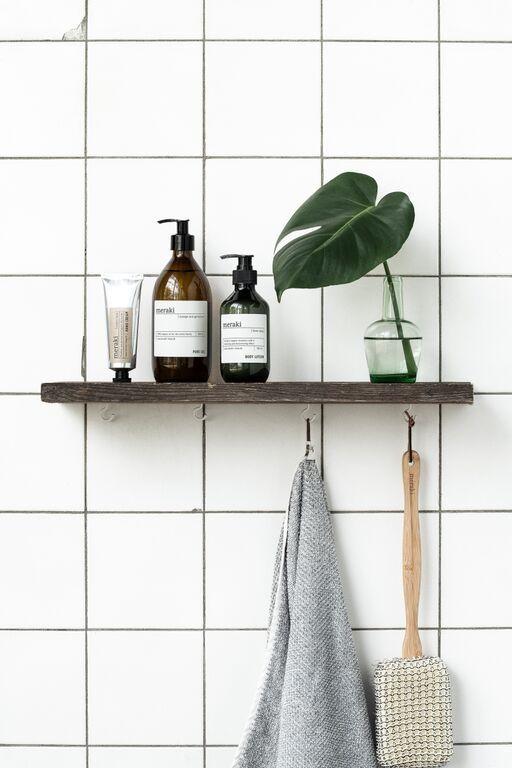 Une déco minimaliste et végétale pour sa salle de bain