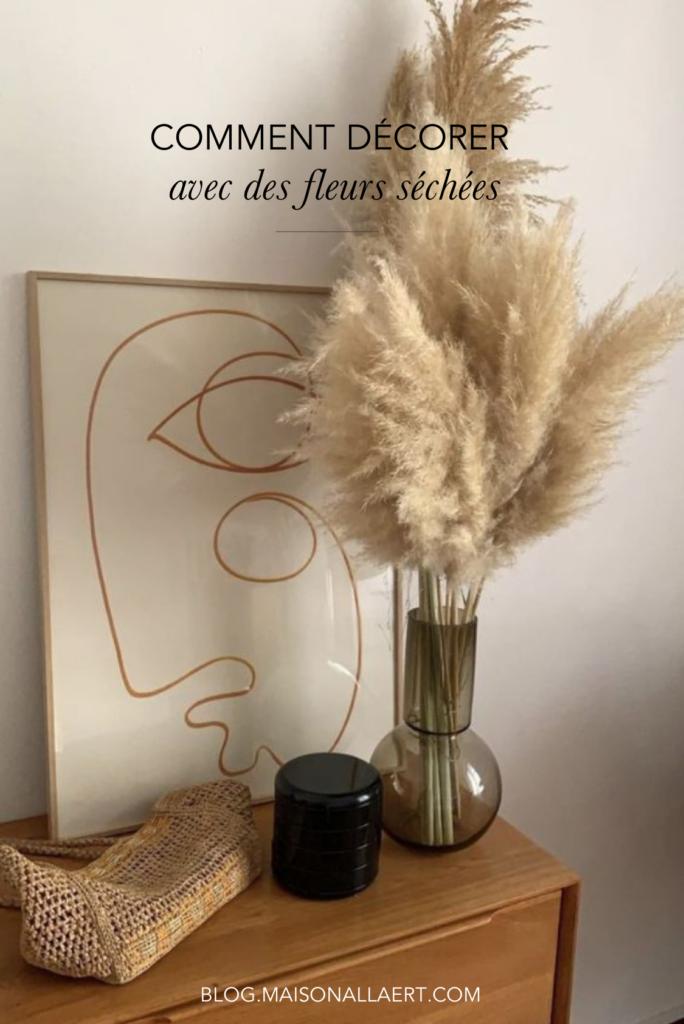 Vous voulez savoir comment décorer votre intérieur avec des fleurs séchées ? Découvrez plein de conseils et des photos inspirants !