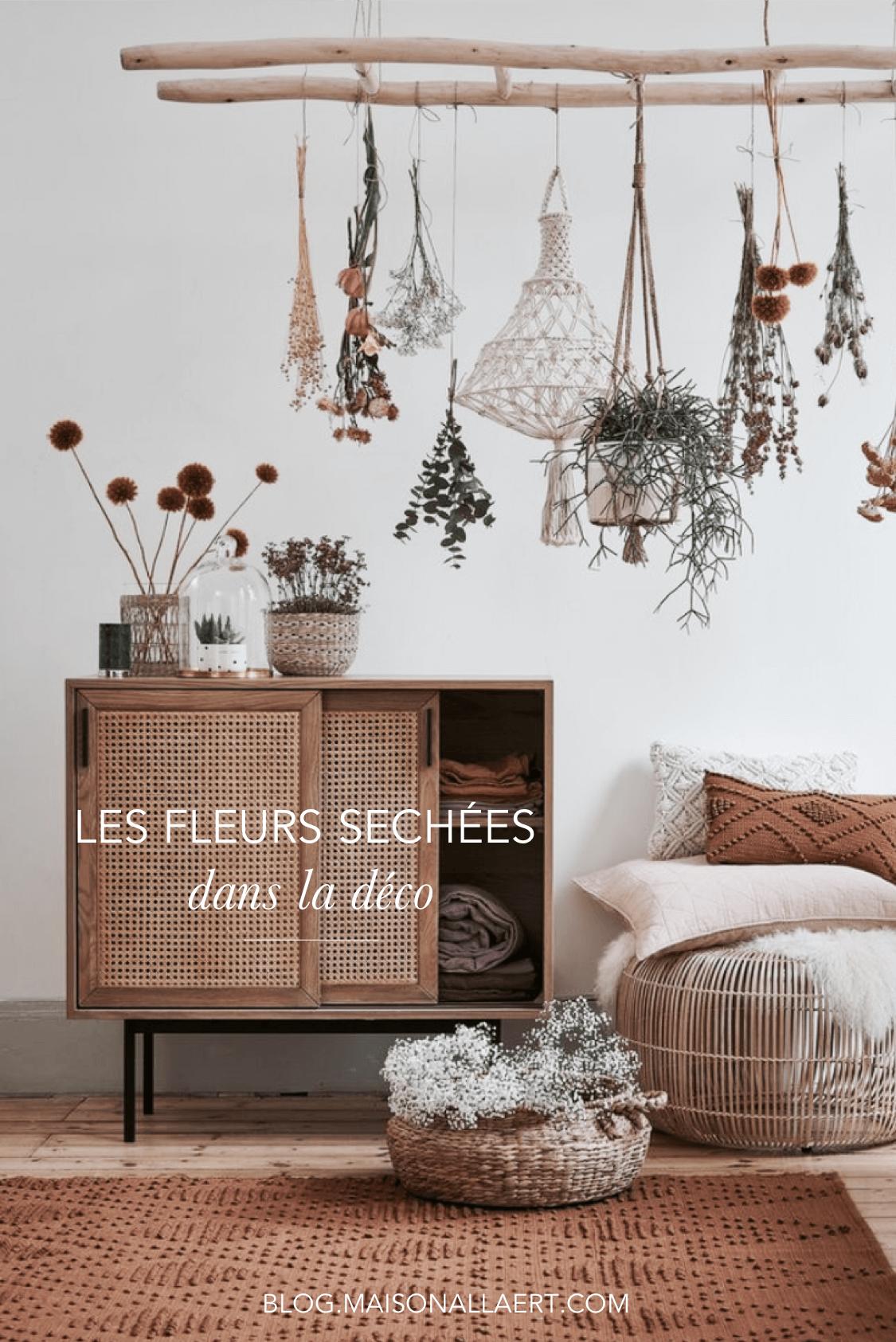 Comment utiliser les fleurs séchées en décoration
