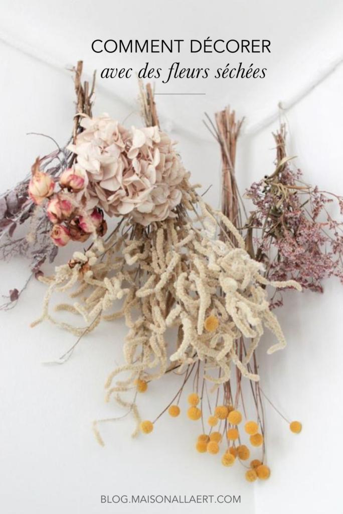 Les plus jolies idées déco pour embellir son intérieur avec des fleurs séchées