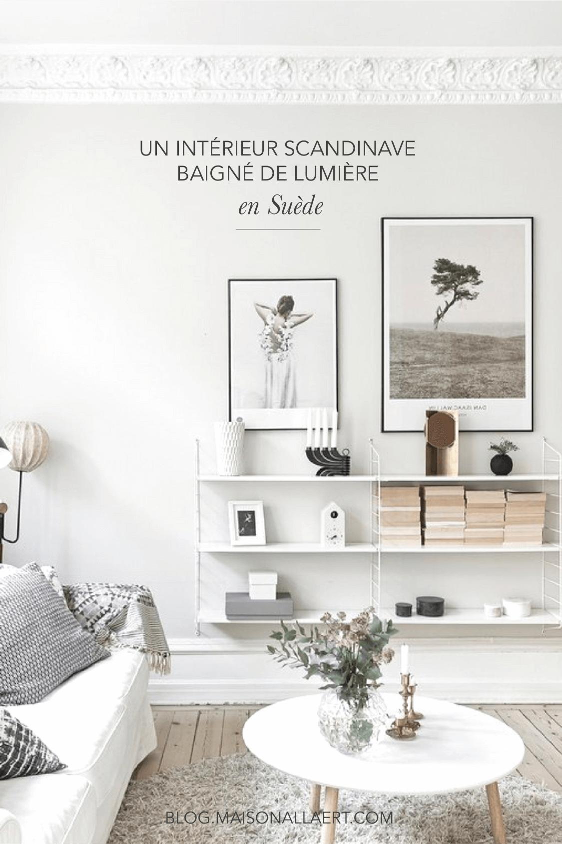 un bel appartement scandinave baign de lumi re en su de. Black Bedroom Furniture Sets. Home Design Ideas